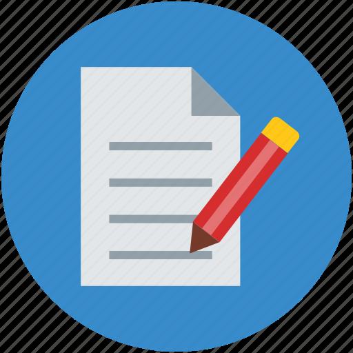 doc, document, edit, pen, write, writing icon