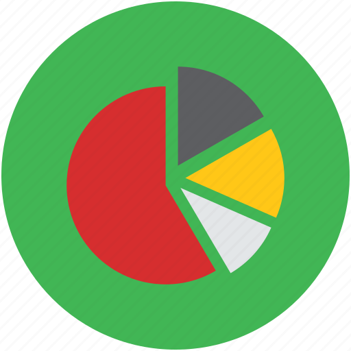 chart, digital, graphic, infographic, piechart icon