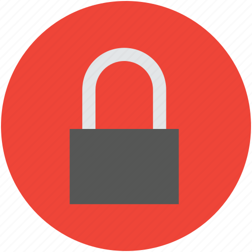 access, lock, locked, padlock, protection, safe, safeguard, secure icon
