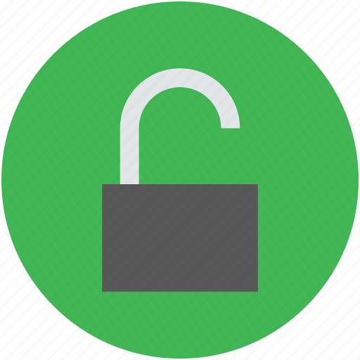 code, open, padlock, privacy, private, sign, unlock icon