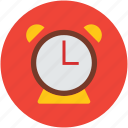 alarm, clock, retro, timepiece, timer, watch icon
