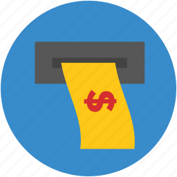 atm, bank, cash, pay, transaction, withdrawal icon
