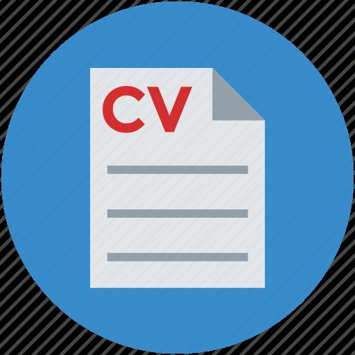curriculum vitae  cv  experience  personal  profile  resume icon