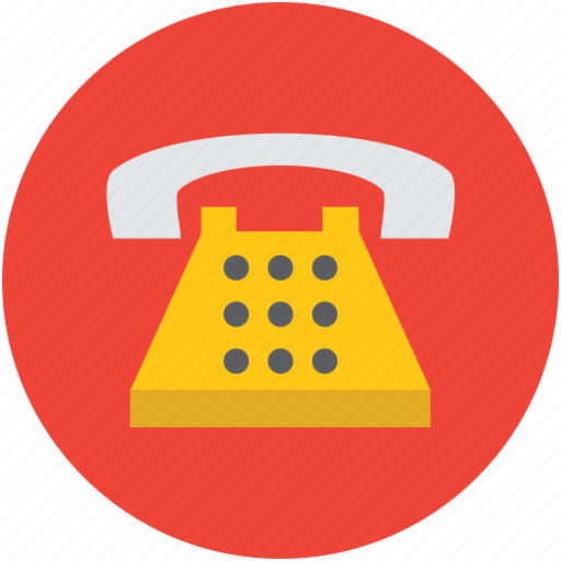 communication, connection, dial, phone, retro, telephone icon