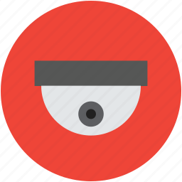 camera, cctv, dome, monitored, secure, surveillance icon