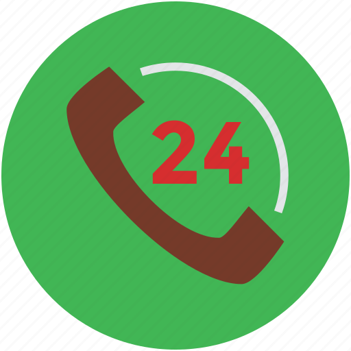 around the clock, consultation, customer, delivery, service, support, twenty four hour icon