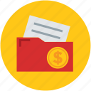 agreement, contract, economic, folder, income, investment, paper icon