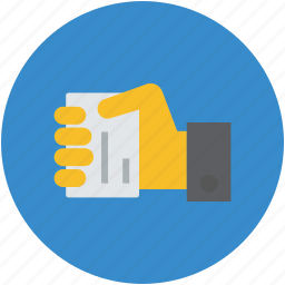 businessman, card, charity, concept, corruption, credit, hand, pay icon