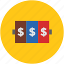 concept, currency, dollar, finance, money, sign icon