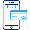 card, mobile, pay, payment icon