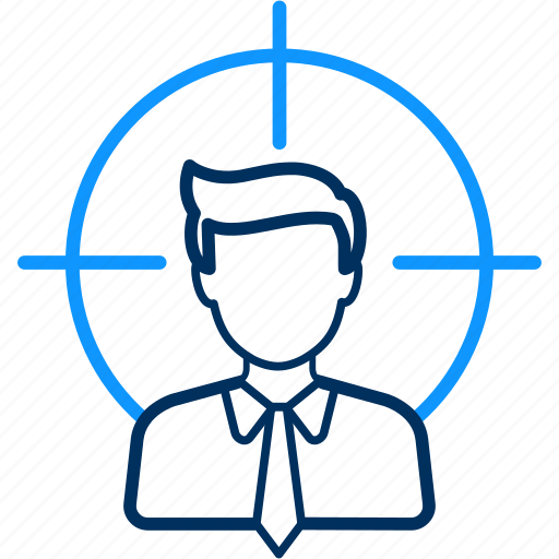 customer, target, user icon