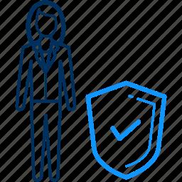 antivirus, security icon