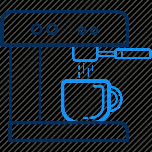 coffee, machine, maker icon