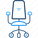 armchair, boss, chair icon