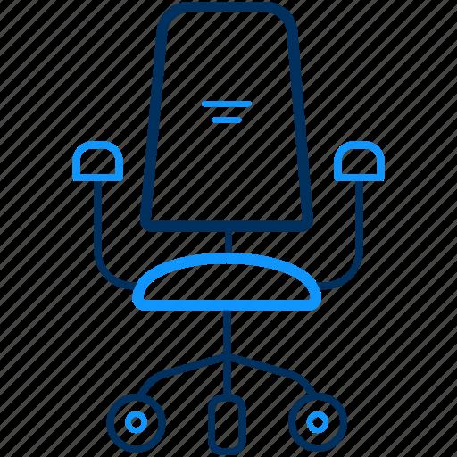 armchair, boss, chair icon