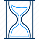 hourglass, sandglass icon