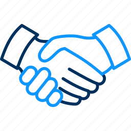 handshake, meeting, partnership icon