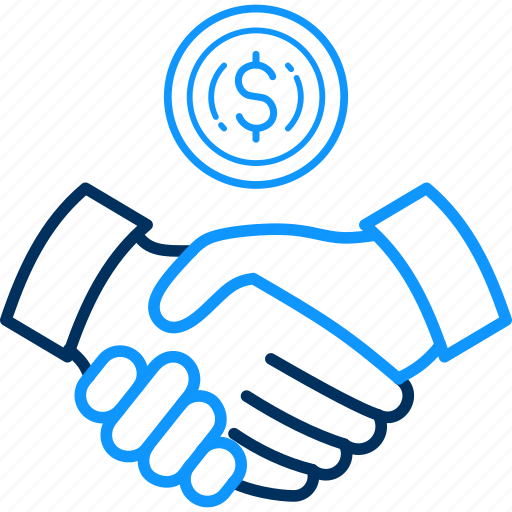 finance, meet, meeting, partnership, revenue icon