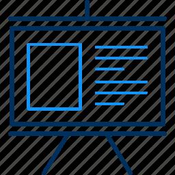 board, presentation icon