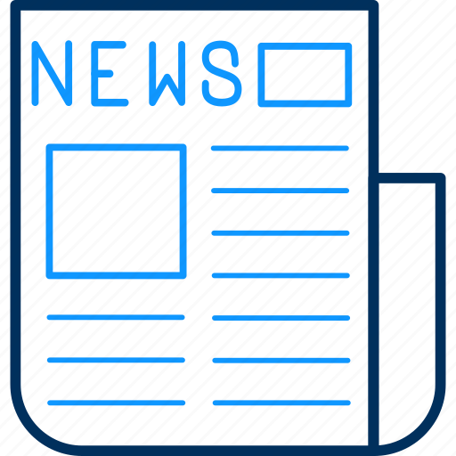 letter, news, newspaper icon