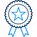 badge, star icon
