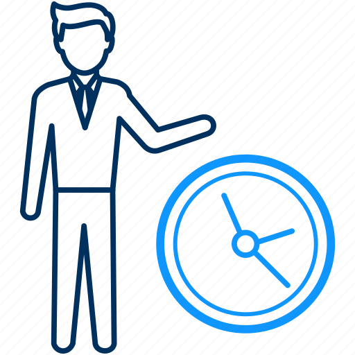 punctual, punctuality, time, timer icon