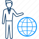 earth, global, international, internet, web, world icon
