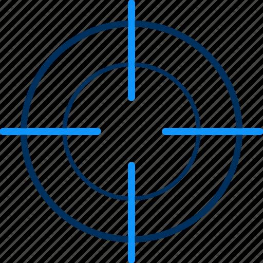 Focus, target, aim, goal icon - Download on Iconfinder