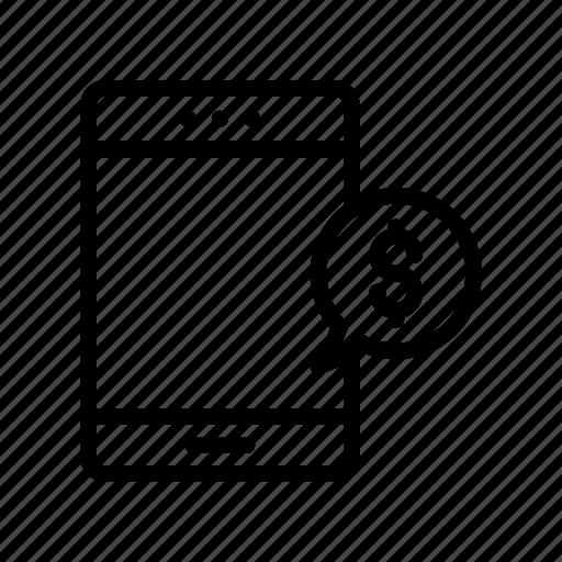Device, mobile, message, bubble, phone icon