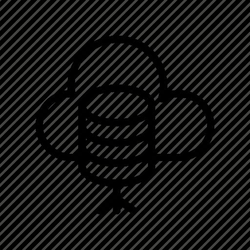 Database, mainframe, storage, cloud, server icon - Download