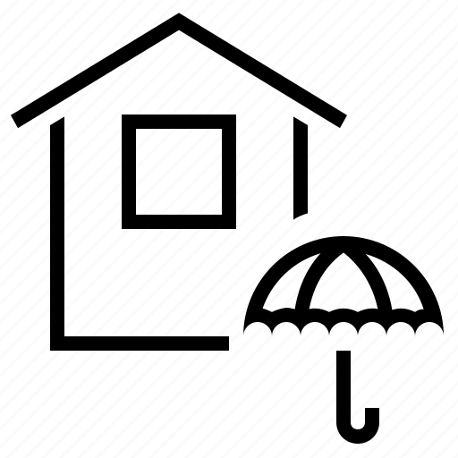 home insurance, house, house insurance, house protection, insurance icon