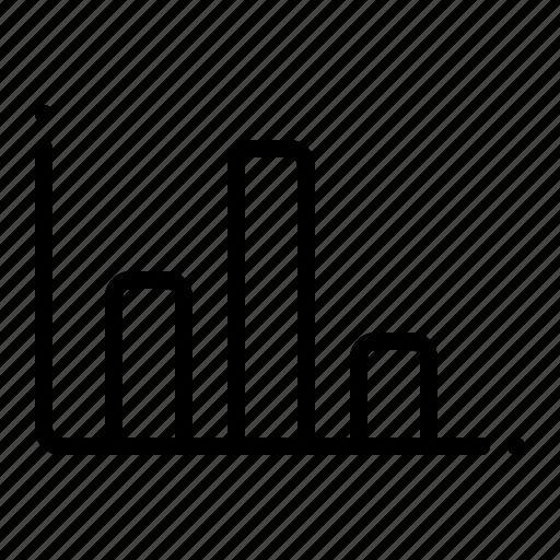 block, business, diagram, finance icon