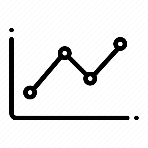 business, chart, finance icon