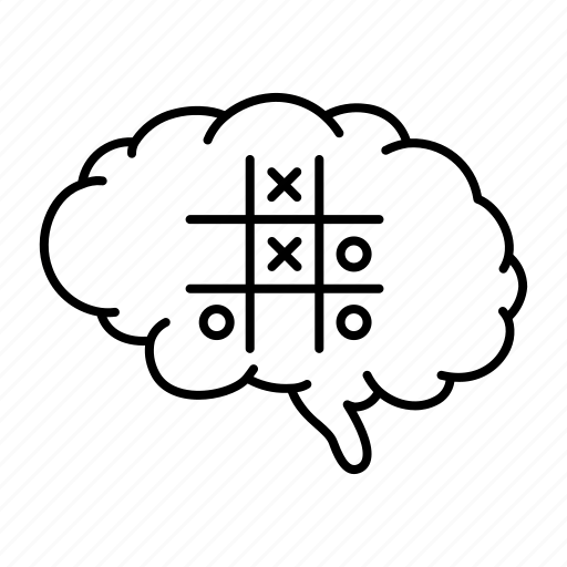 brain, idea, method, plan, skill, strategy, system icon