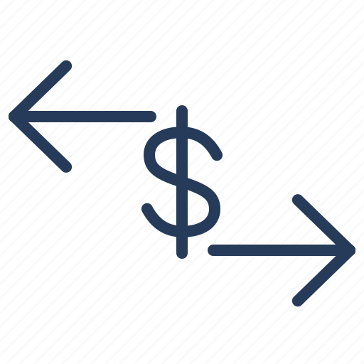 business, currency, dollar, exchange, finance icon
