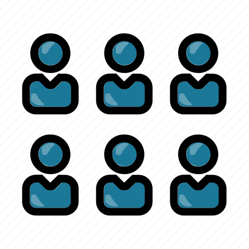 business, businessman, customer, group, people icon