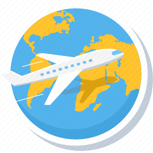 business, flight, meeting, office, tour, travel, work icon