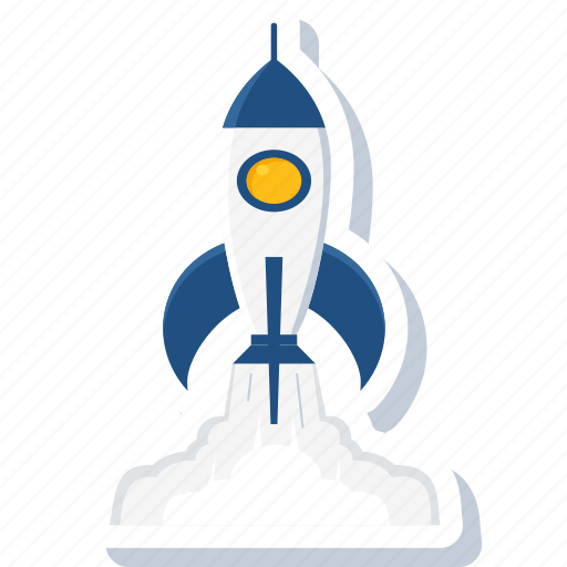 business, launch, missile, rocket, spacecraft, spaceship, startup icon