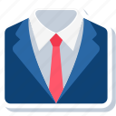 business, clothes, formal, office, profession, professional, work icon