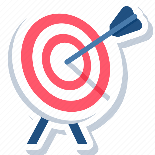 aim, bullseye, business, darboard, goal, success, target icon
