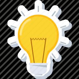 bulb, electric, energy, idea, lamp, light, lightbulb icon
