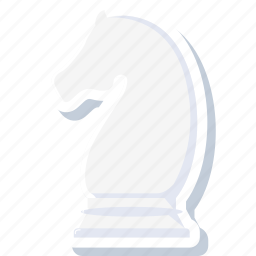 business, chess, game, horse, management, plan, strategy icon
