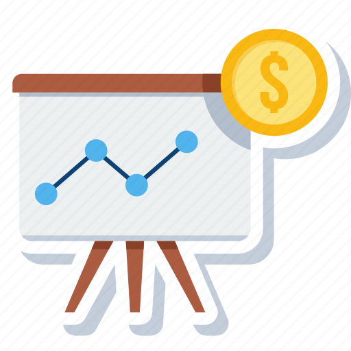 board, chart, dartboard, graph, growth, presentation, statistics icon