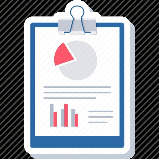 business, chart, checklist, clipboard, diagram, list, plan icon