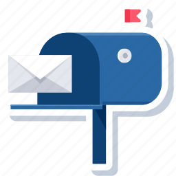 box, email, inbox, letter, mail, mailbox, postbox icon