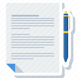 approve, contract, document, file, paper, sheet, sign icon