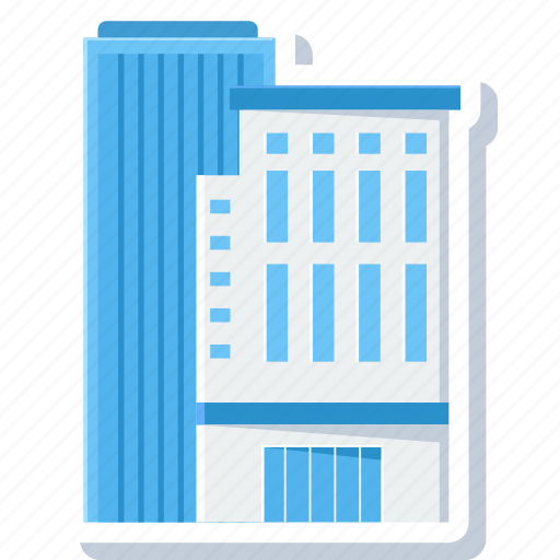 architecture, building, business, city, construction, office, work icon