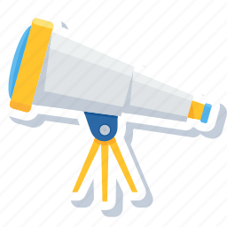 astronomy, binocular, binoculars, explore, find, telescope icon
