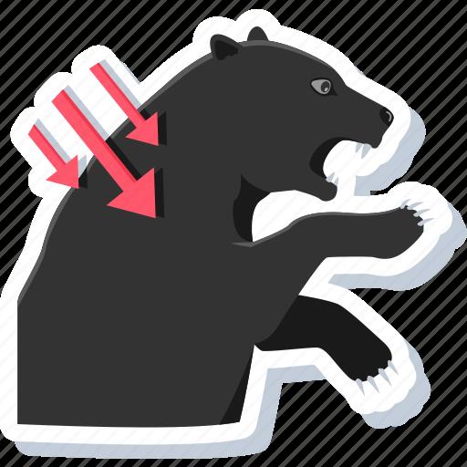 aggressive, animal, animals, attacker, bear, bull, wild icon