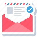 letter, chat, communication, envelope, mail, message, text